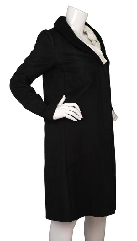 Maison Martin Margiela Black & White Cotton Jacket sz 44 2