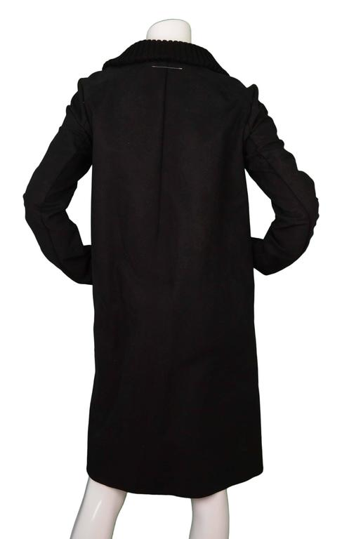 Maison Martin Margiela Black & White Cotton Jacket sz 44 3