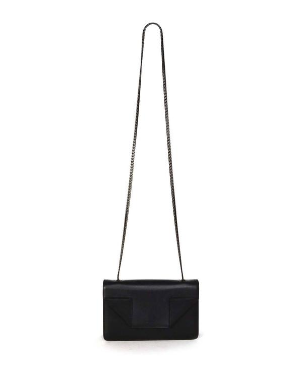 Saint Laurent Black Leather Small 'Betty' Crossbody Bag BHW 8