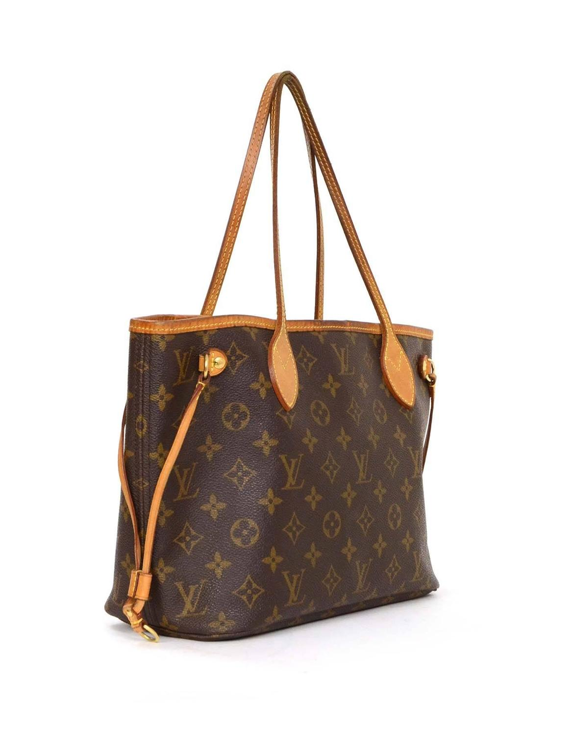 Home Designer Interiors Serial Louis Vuitton Monogram Canvas Neverfull Pm Tote Bag Ghw