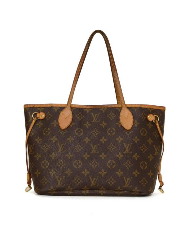 Louis Vuitton Monogram Canvas Neverfull PM Tote Bag GHW In Good Condition For Sale In New York, NY