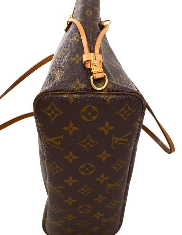 Louis Vuitton Monogram Canvas Neverfull PM Tote Bag GHW For Sale 1
