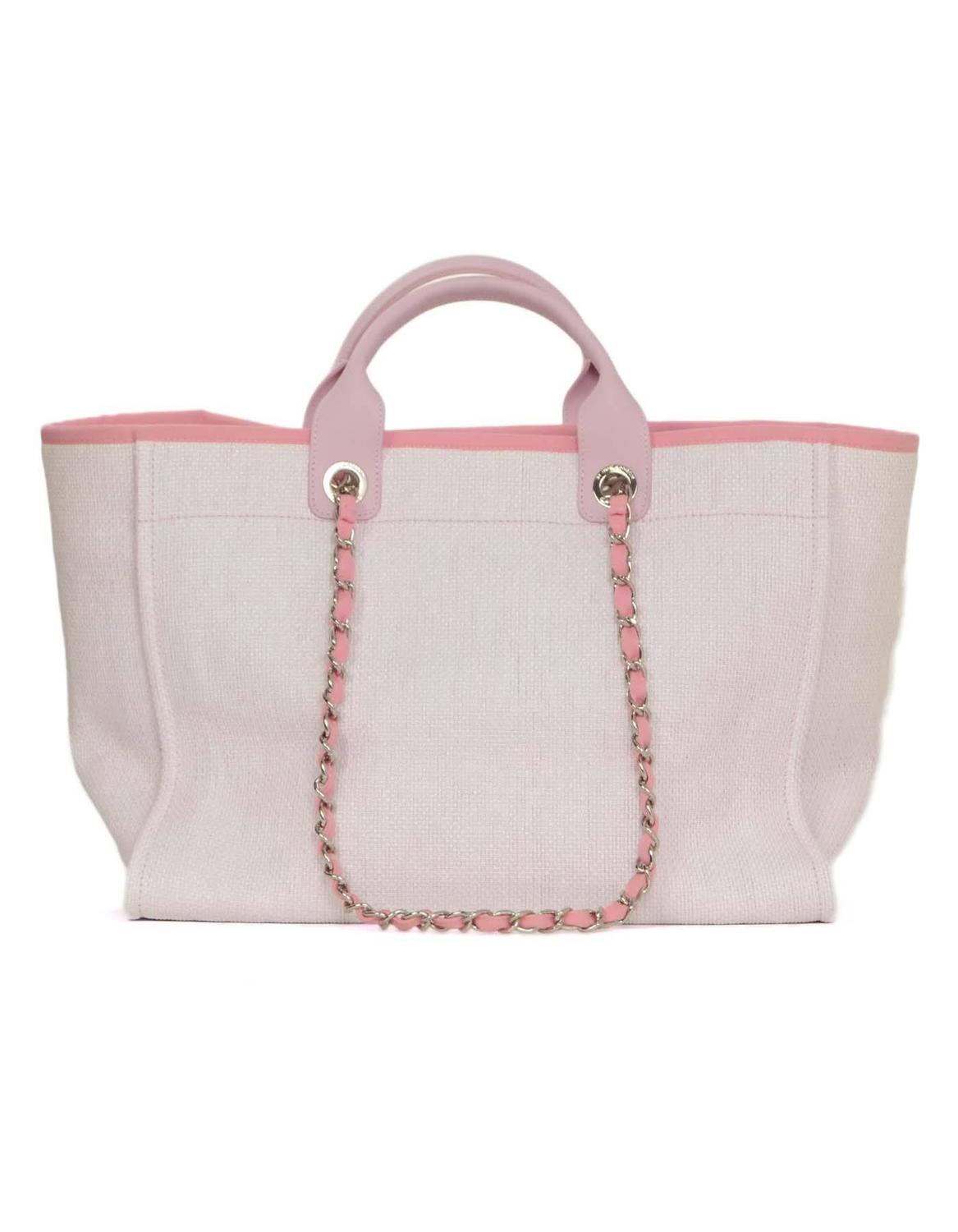 c3deba529399 Chanel Deauville Tote Bag Pink | Stanford Center for Opportunity ...