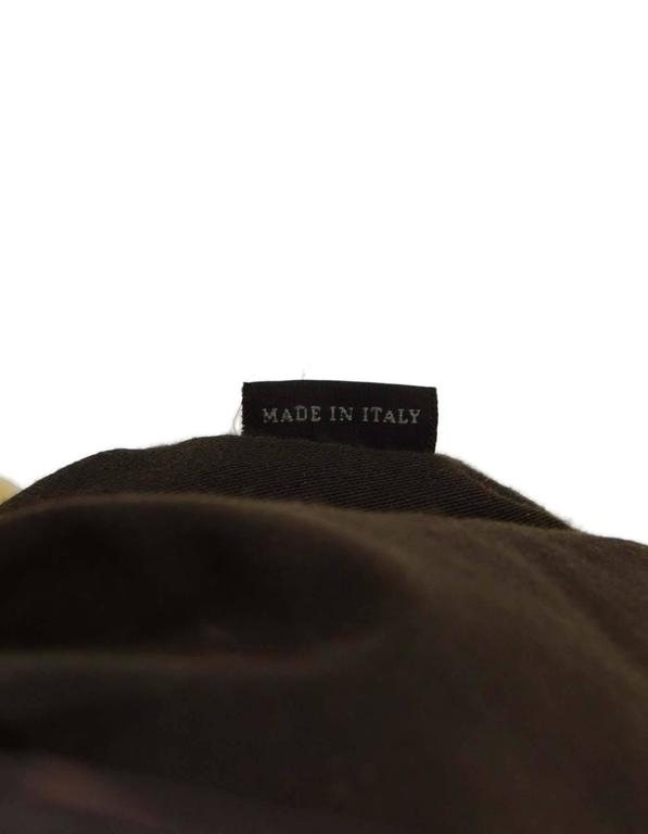 Miu Miu Tan Leather Belt Buckle Tote Bag GHW For Sale 3