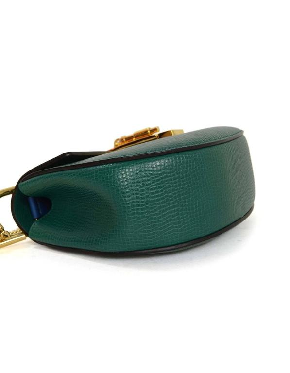 Chloe Blue and Green Bicolor Drew Small Crossbody Bag GHW rt. $1,950 3
