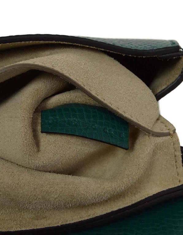 Chloe Blue and Green Bicolor Drew Small Crossbody Bag GHW rt. $1,950 7