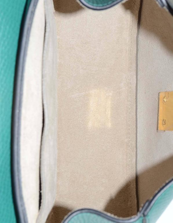 Chloe Blue and Green Bicolor Drew Small Crossbody Bag GHW rt. $1,950 5