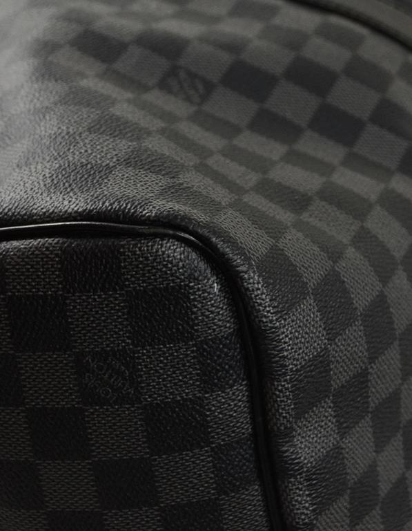 Louis Vuitton Damier Graphite Keepall Bandouliere 55 Duffle Bag In  Excellent Condition For Sale In New bcfb15b147