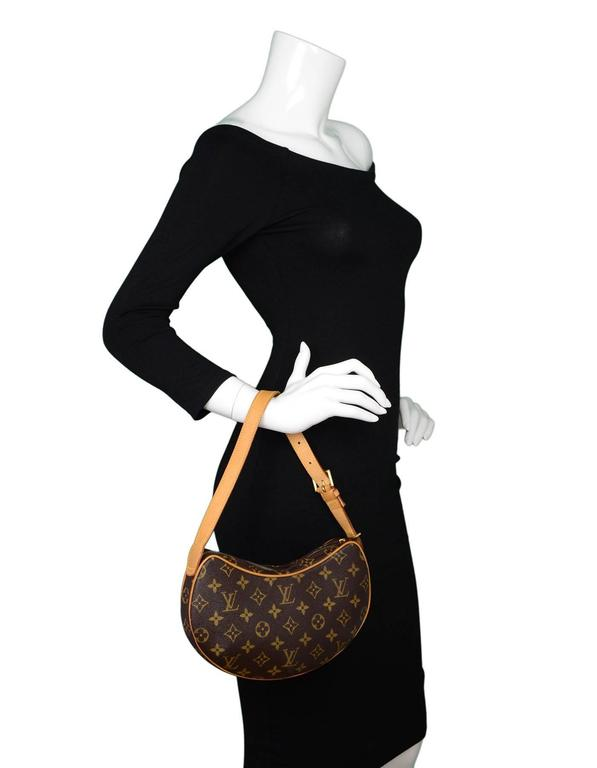321b018ae4d3 Louis Vuitton Monogram Croissant PM Shoulder Bag For Sale at 1stdibs