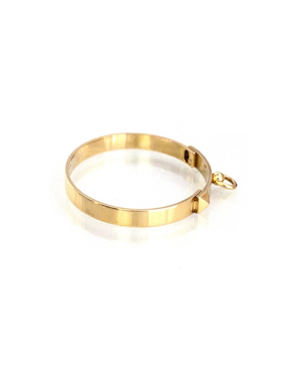 8257da44ce0 ... discount hermes 18k yellow gold collier de chien cdc pm bracelet sz sh  at 1stdibs 7b4c9