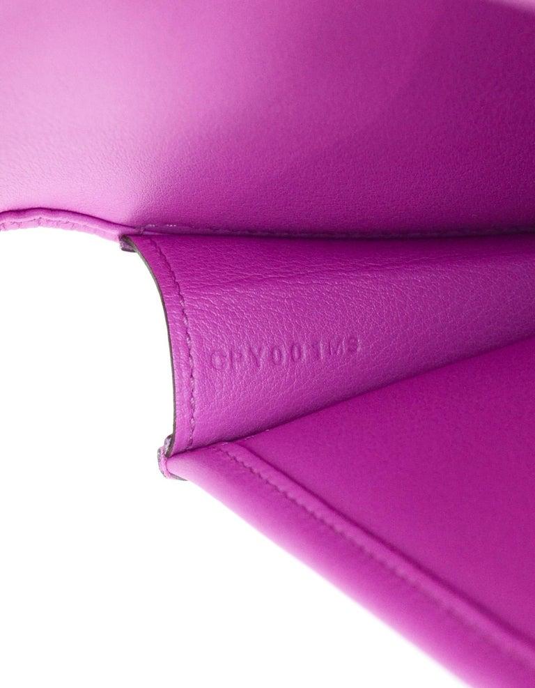 Hermes Magnolia Pink Swift Leather Jige Elan 29 H Clutch Bag, 2018  For Sale 3