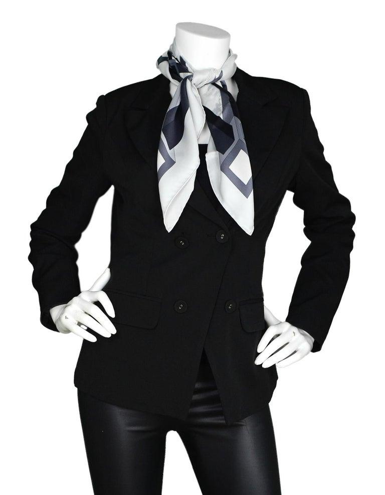Gray Hermes Black/White 26