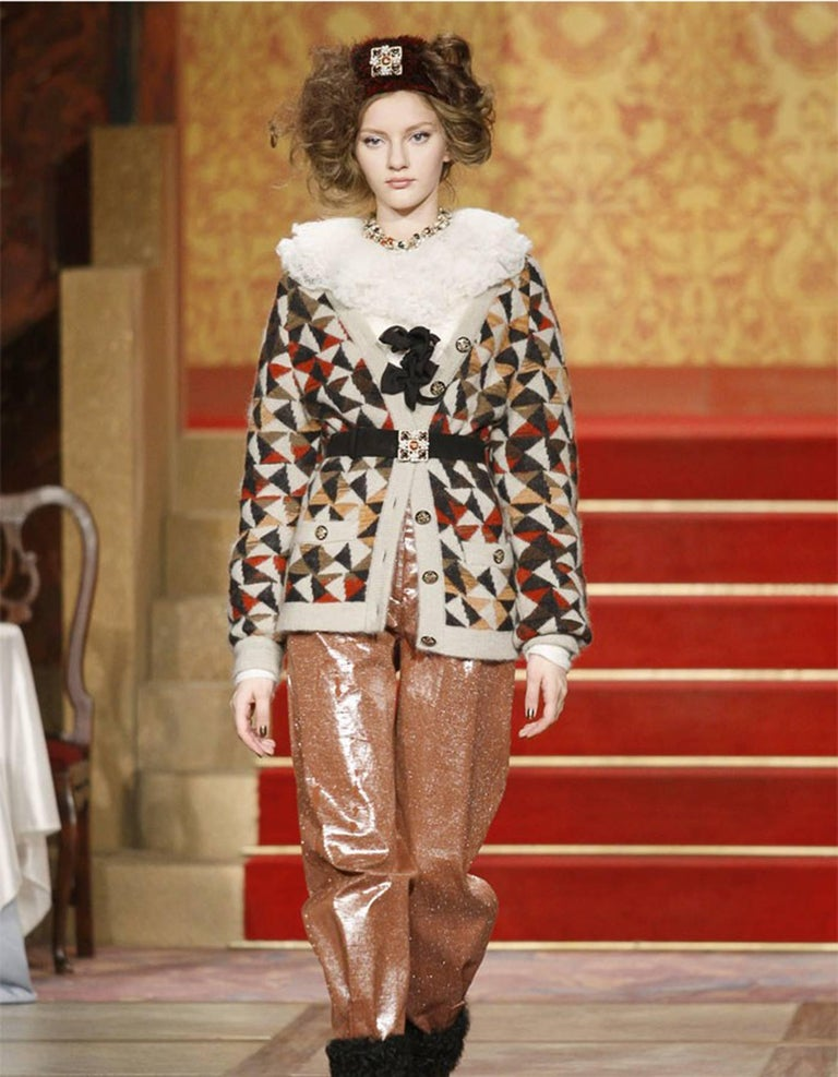 Chanel Paris/Moscow Runway Bead & Pearl Necklace 9