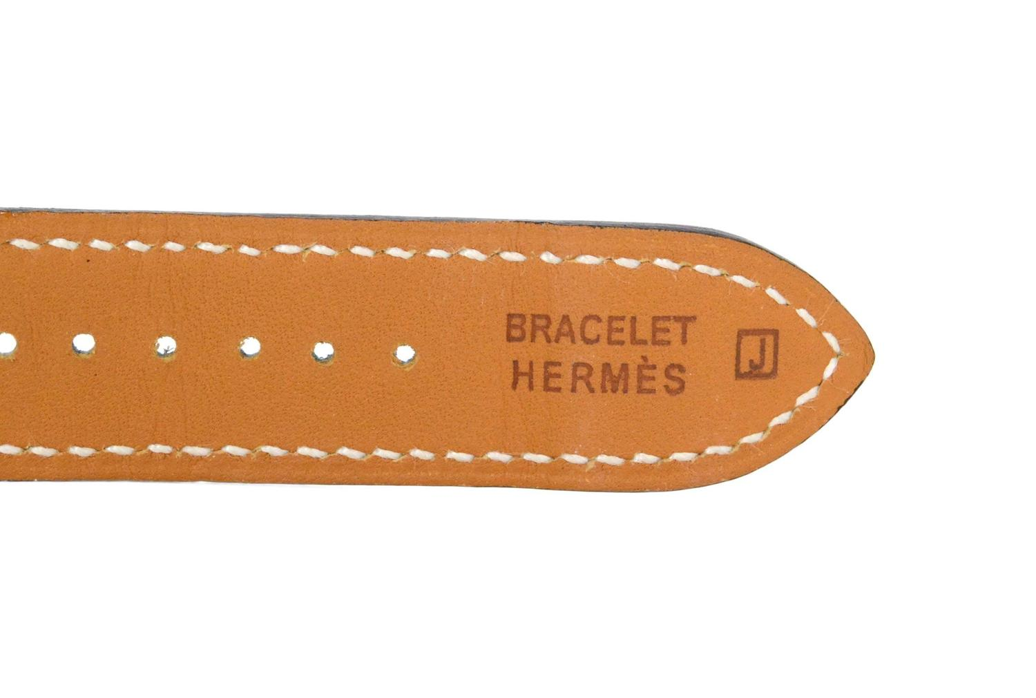 hermes leather straps i watch