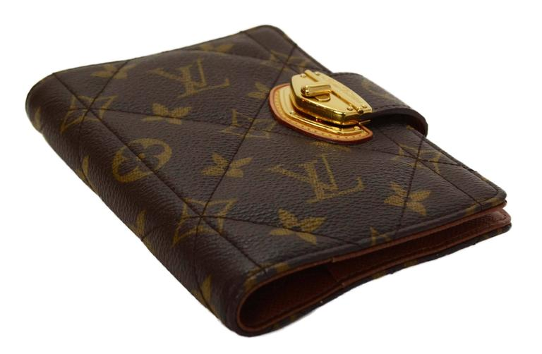 Louis Vuitton Monogram Canvas Etoile Small Agenda Cover GHW 2
