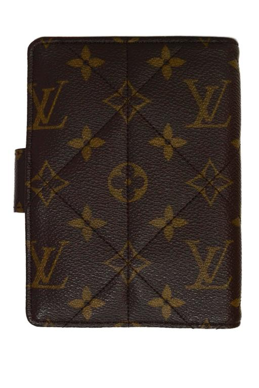 Louis Vuitton Monogram Canvas Etoile Small Agenda Cover GHW 4