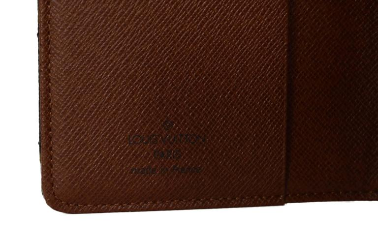 Louis Vuitton Monogram Canvas Etoile Small Agenda Cover GHW 6