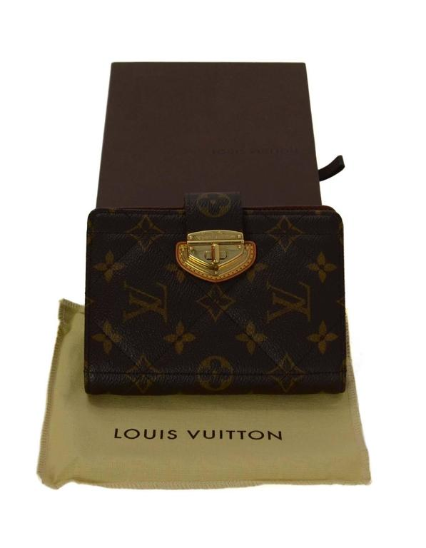 Louis Vuitton Monogram Canvas Etoile Small Agenda Cover GHW For Sale 3
