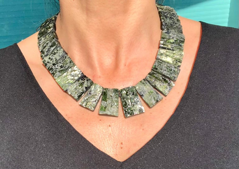 A.Jeschel Black Tourmaline—The most powerful stone of all in a matched collar  For Sale 2