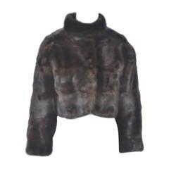 Revillon Mink Bolero Jacket
