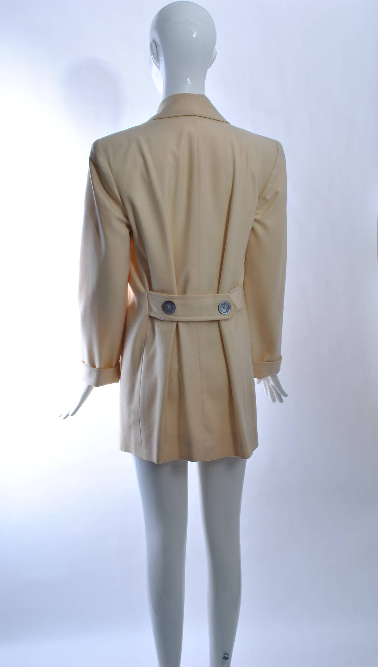 1940s White Wool Jacket 5