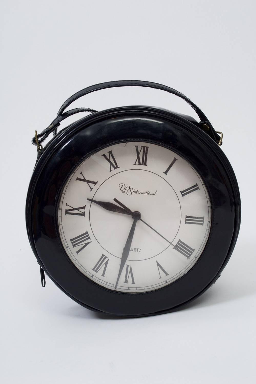 1980s Clock Shoulder Bag For Sale At 1stdibs