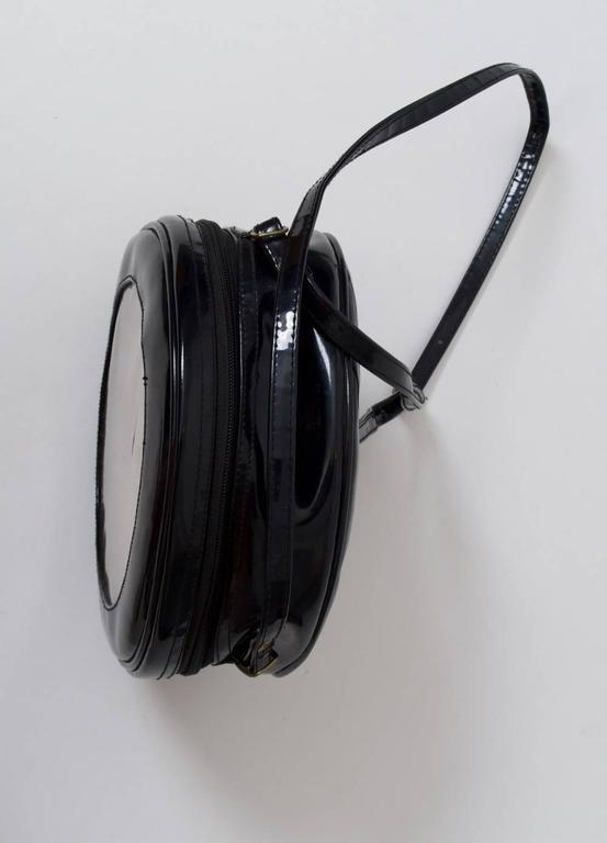 1980s Clock Shoulder Bag For Sale 1