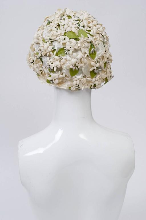 White Flower Hat 4