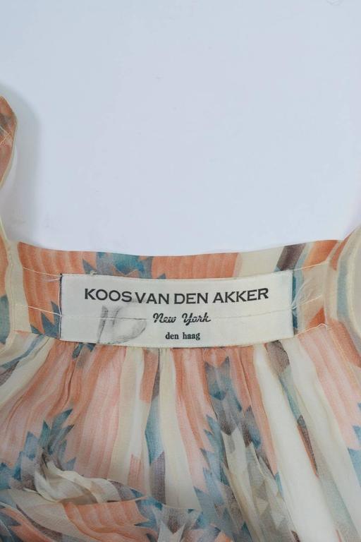 Koos van den Akker Blouse For Sale 1