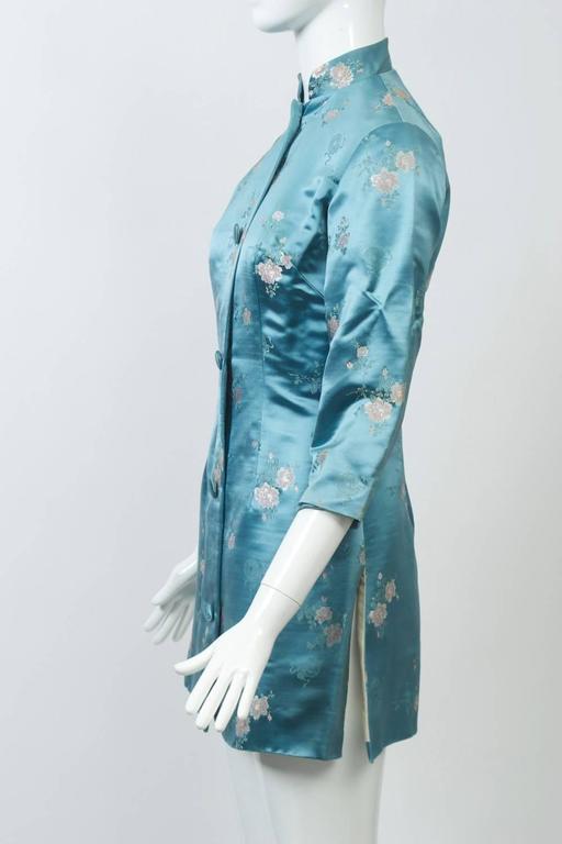 Brocade Hong Kong Jacket And Pants For Sale At 1stdibs