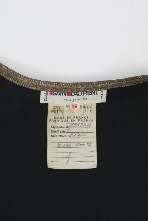 1970s Saint Laurent Vest 8