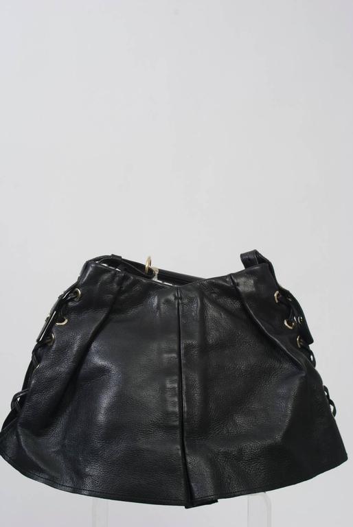 YSL Black Leather Bag 7