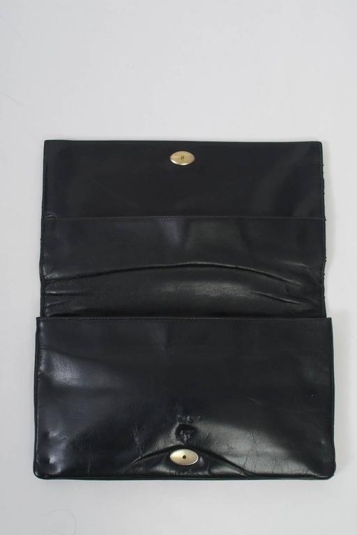 1970s Black Snake Clutch For Sale 4