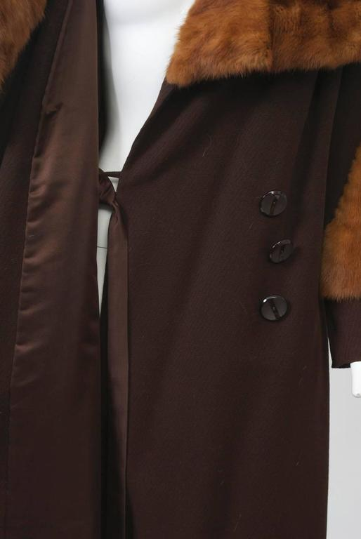 1930s Fur Trimmed Coat For Sale 2
