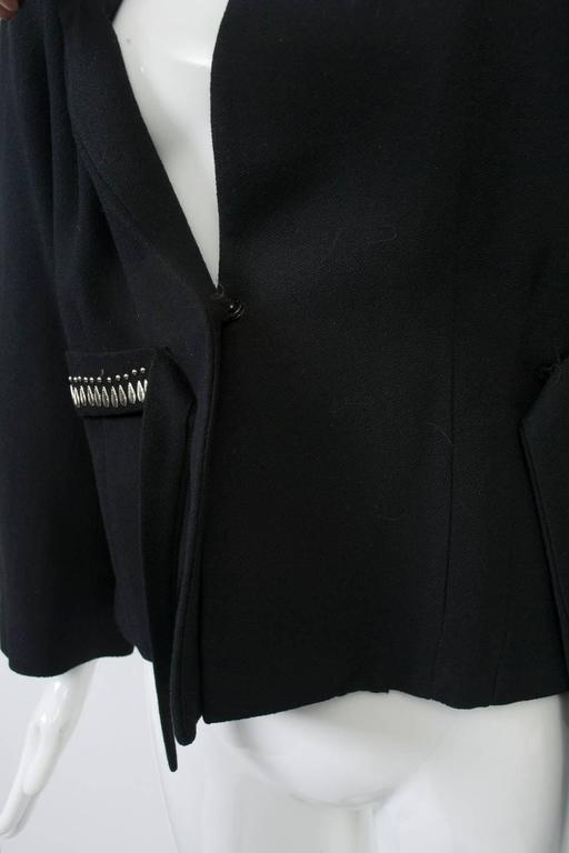 1940s Silver-Studded Jacket For Sale 1
