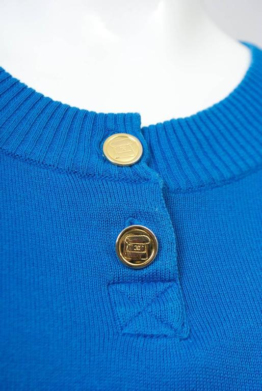 Women's Chanel Blue Pullover For Sale