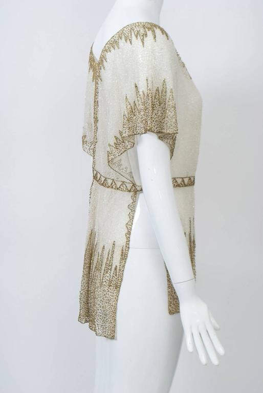 Crystal Beaded Art Deco Tunic 2