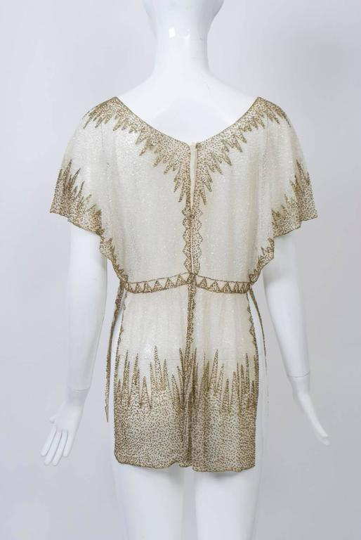 Crystal Beaded Art Deco Tunic 4