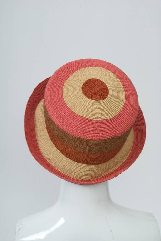 Annabel Ingall Straw Hat In New Condition For Sale In Alford, MA