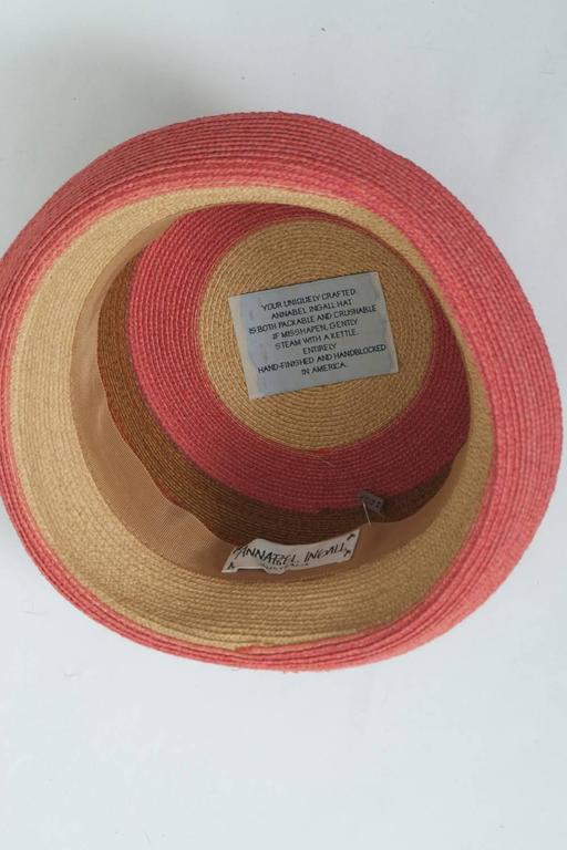 Annabel Ingall Straw Hat For Sale 1