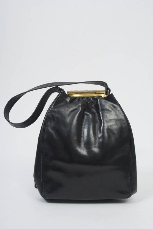 Rosenfeld Produced Some Of The Best Vintage Handbags In America This Example Has A Black