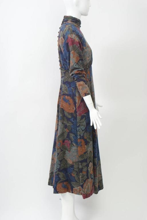 Black Dior Challis Print Dress For Sale