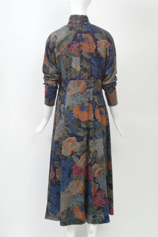Dior Challis Print Dress In Excellent Condition For Sale In Alford, MA