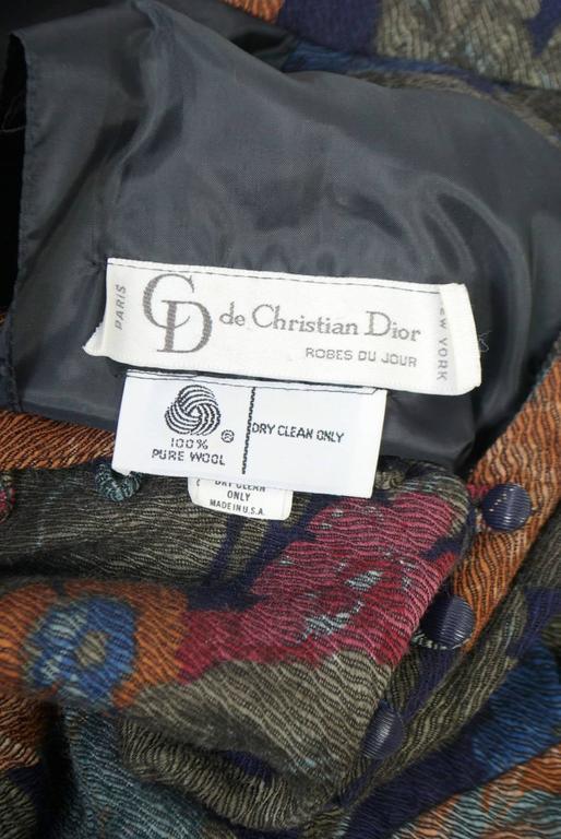 Dior Challis Print Dress For Sale 4