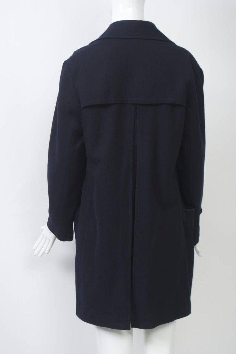 Women's Yohji Yamamoto Navy Jacket For Sale
