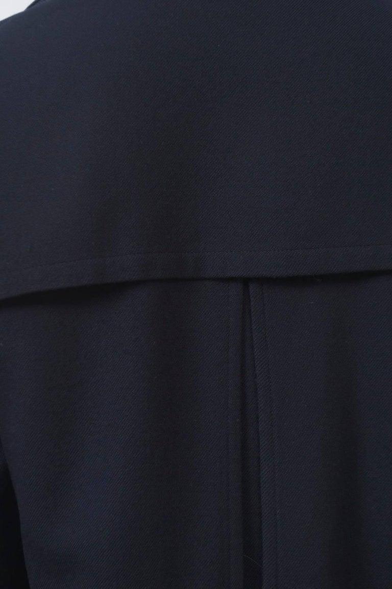 Yohji Yamamoto Navy Jacket For Sale 1