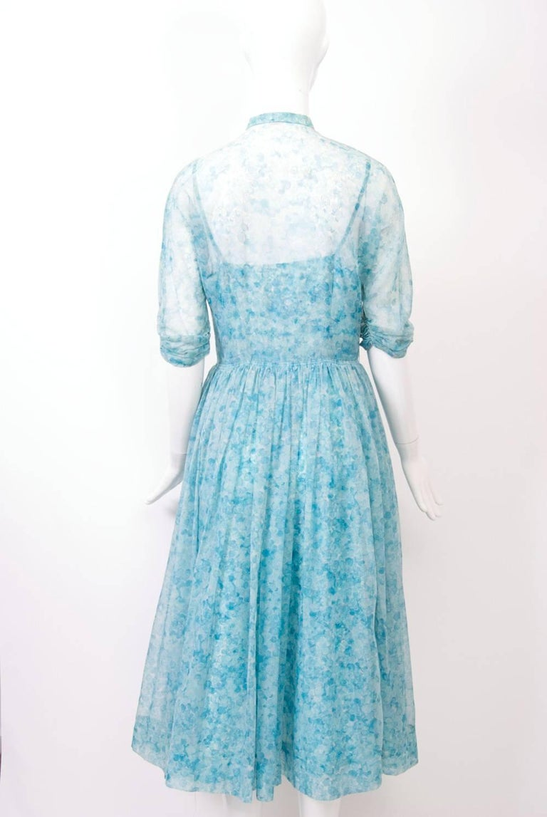 Leslie Fay 1950s Dress And Coat For Sale At 1stdibs