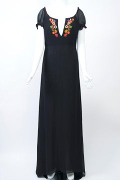 Etro Ethnic Embroidered Maxi Dress