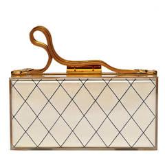 Evans Lined Lucite Bag