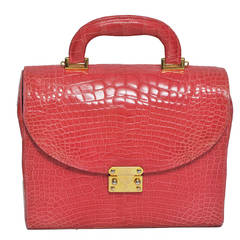 Lana of London Shrimp Alligator Handbag